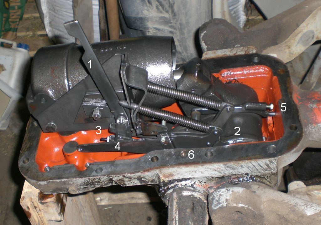 Mf565 Linkage